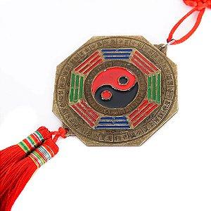 Baguá Zodíaco Cordão Vermelho (Amuleto de Feng Shui)