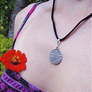 Gargantilha Tetragrammaton em Prata