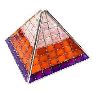 Pirâmide Ascensão Espiritual - Vitral