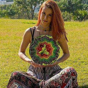 Quadro de Espelho Meditação dos Chakras