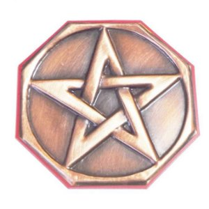 Quadro Pentagrama em Cobre