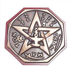 Quadro Tetragrammaton  Cobre