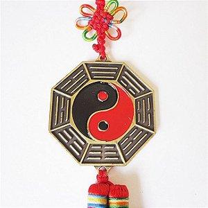 Baguá Yin Yang Cordão Vermelho Mini