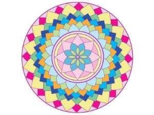 Fundo de tela Mandala da Alegria