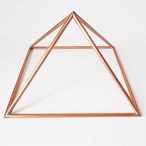 Piramide de Cobre Base 10cm