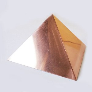 Pirâmide de Cobre Polida 10cm