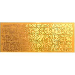 Placa Keiti G Gráfico em Cobre
