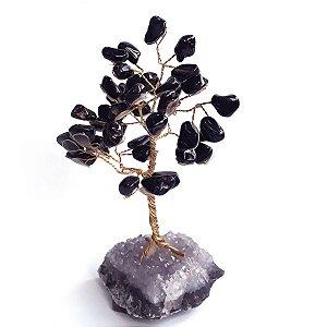 Árvore de Pedras Ônix 13cm