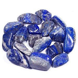 Pedra Lápis Lazuli Rolada 70g