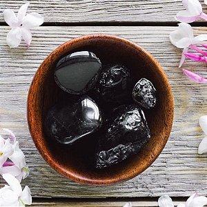 Pedras Obsidiana Negra Rolada Pc 100g