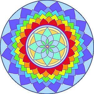 Adesivo Parede Mandala da Criatividade 15cm