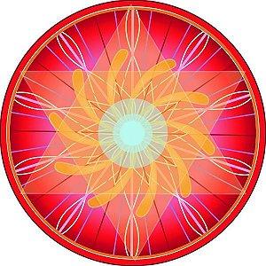 Adesivo Parede Mandala do Sucesso 15cm