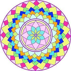 Adesivo Parede Mandala da Alegria 15cm