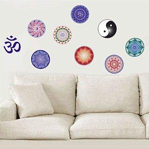 Kit Adesivo Decorativo Mandalas
