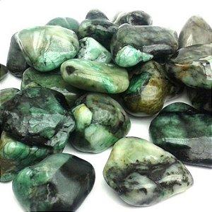 Pedra Esmeralda Rolada, A Pedra de 2020 Pac 100g