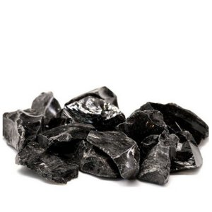 Pedra Obsidiana Negra 100gr