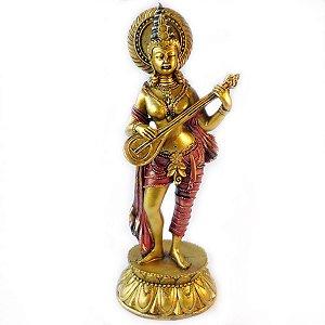 Estátua Deusa Saraswati