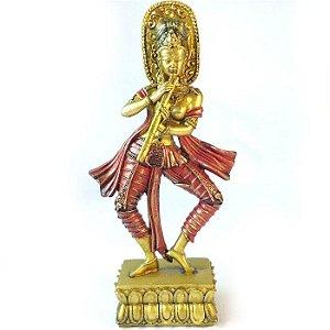 Estátua Deusa Saraswati do Conhecimento