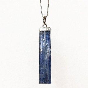 Pingente Cianita Azul - Espada de Arcanjo Miguel