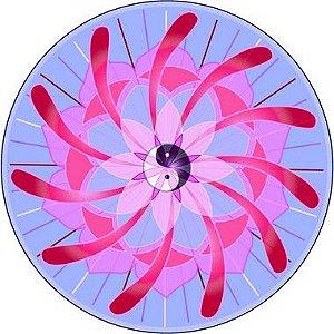Adesivo Para Parede Mandala do Amor 60cm