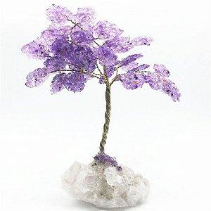 Árvore da Abundância de Ametista 24cm