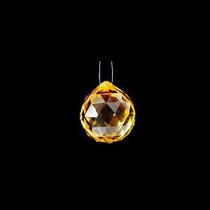 Cristal facetado Amarelo para Feng Shui 20mm