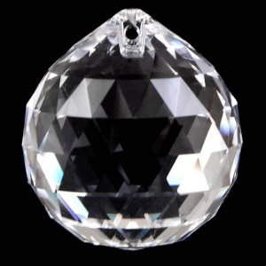 Cristal facetado Swarovisk para Feng Shui 30mm