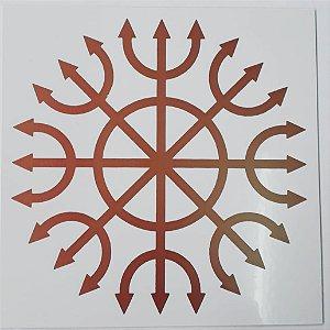 Placa Radiônica Devadatta - Em PVC