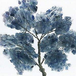 Árvore da Abundância de Quartzo Azul 13cm
