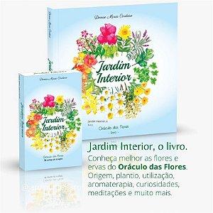 Kit Livro e Oráculo das Flores - Jardim Interior
