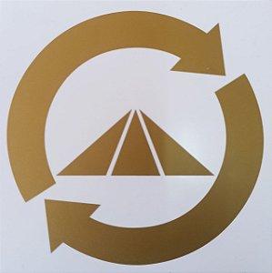 Placa Radionica Prosperador - Em PVC