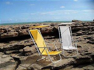 Cadeira com tenda solar