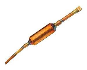 CFD0007 D-1876-FILTRO SECADOR C/MOLECULAR C/PONTEIRA 3/4 90MM E1/4XS3/16