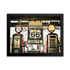 Quadro Historic US 66 Route