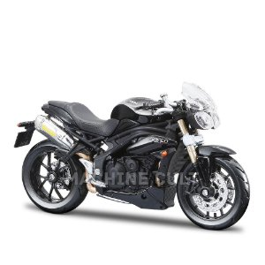 Miniatura Triumph Speed Triple - Burago 1:18