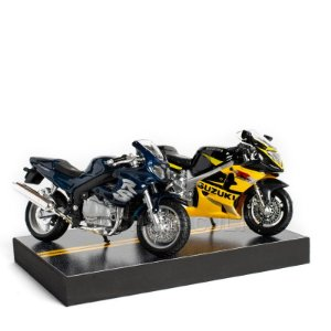 Kit de Miniaturas Moto Esportiva Speed - Box 14