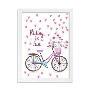 Quadrinho Bicicleta Riding is Fun