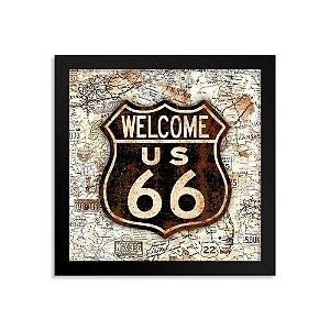 Quadro Historic Route 66 - Road Trip 3