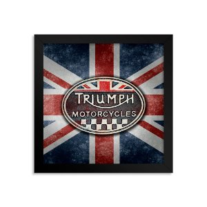 Quadro Decorativo Triumph Motorcycle UK