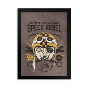 Quadro Decorativo - Speed Rebel