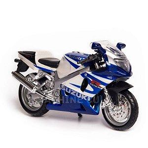 Miniatura Suzuki GSX-R750 Srad - Burago 1:18