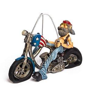 Miniatura Vintage - Motociclista Easy Rider