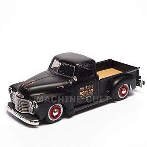 Miniatura Caminhonete Customizada Chevrolet 1950 - All Stars Maisto - 1:25