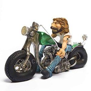 Miniatura Motociclista Easy Rider