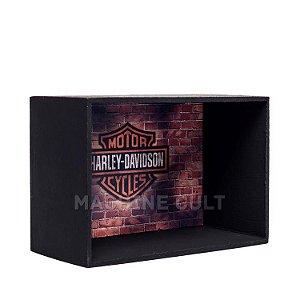 Expositor de Miniaturas Harley-Davidson 10x15cm - MD1
