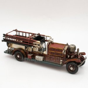 Miniatura Caminhão de Bombeiro para Presente