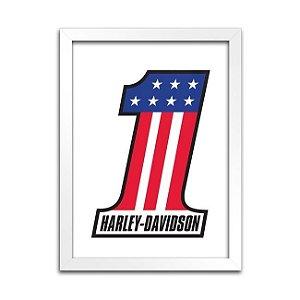 Quadro Harley-Davidson 1