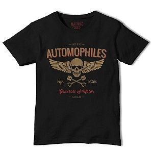 Camiseta Carro Preta - Automophiles