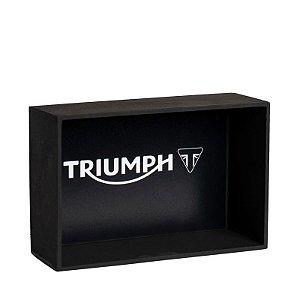 Expositor Miniatura Moto Triumph - escala 1:18