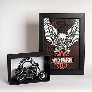 Kit Miniatura Harley-Davidson com Expositor - 21